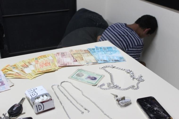 Polícia prende autores de furto no interior de Atalanta