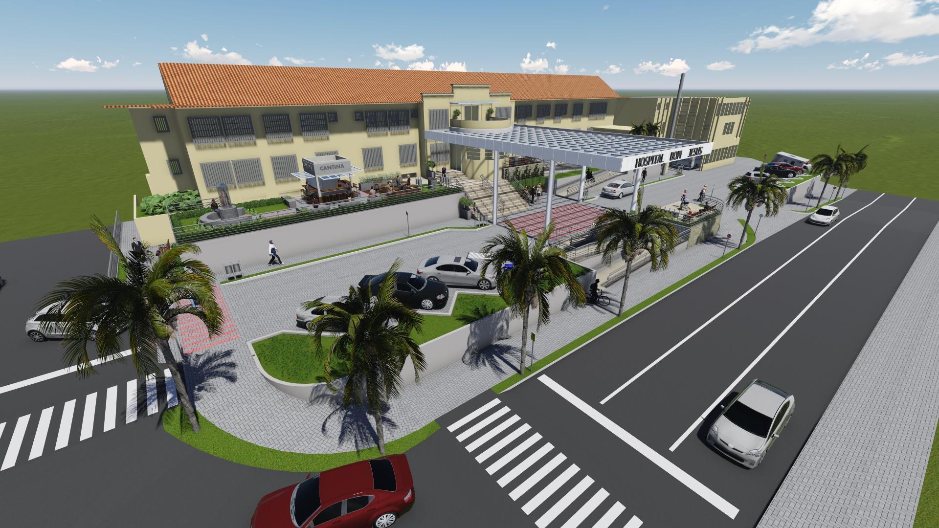 Praça do Hospital Bom Jesus será revitalizada em 2018
