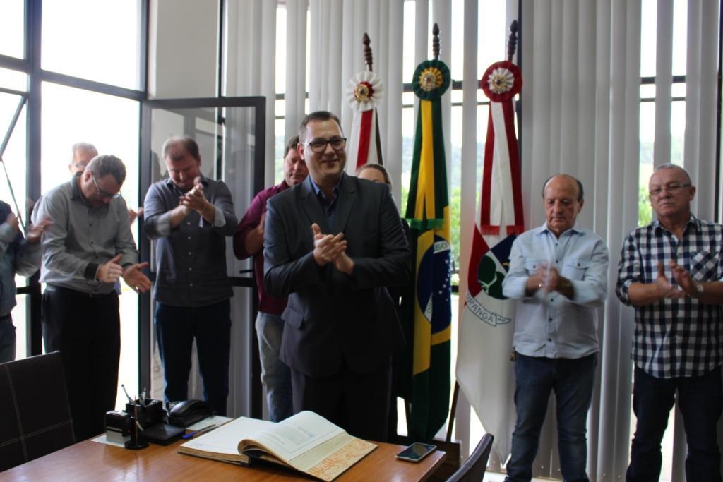 Presidente da Câmara de Vereadores assume administração de Ituporanga