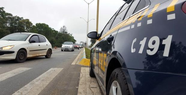 PRF registra queda do número de acidentes e feridos durante operação no feriado