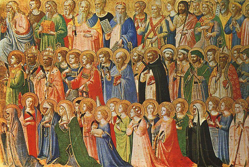 Primeiro de Novembro é comemorado o Dia de Todos os Santos