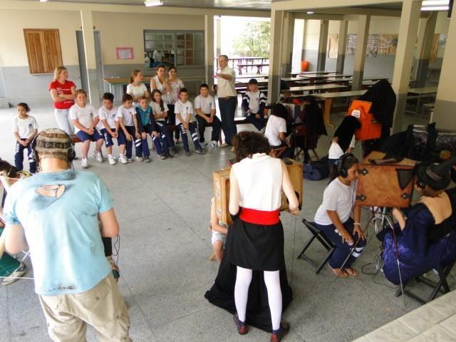 Projeto Baú de Histórias foi realizado nessa semana em Vidal Ramos
