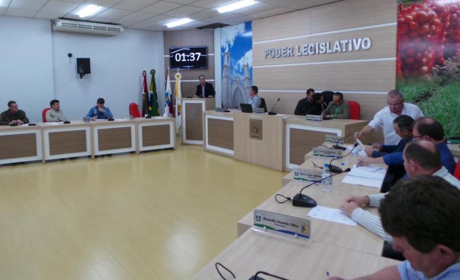 Realizada mais uma sessão ordinária na Câmara de Vereadores de Ituporanga