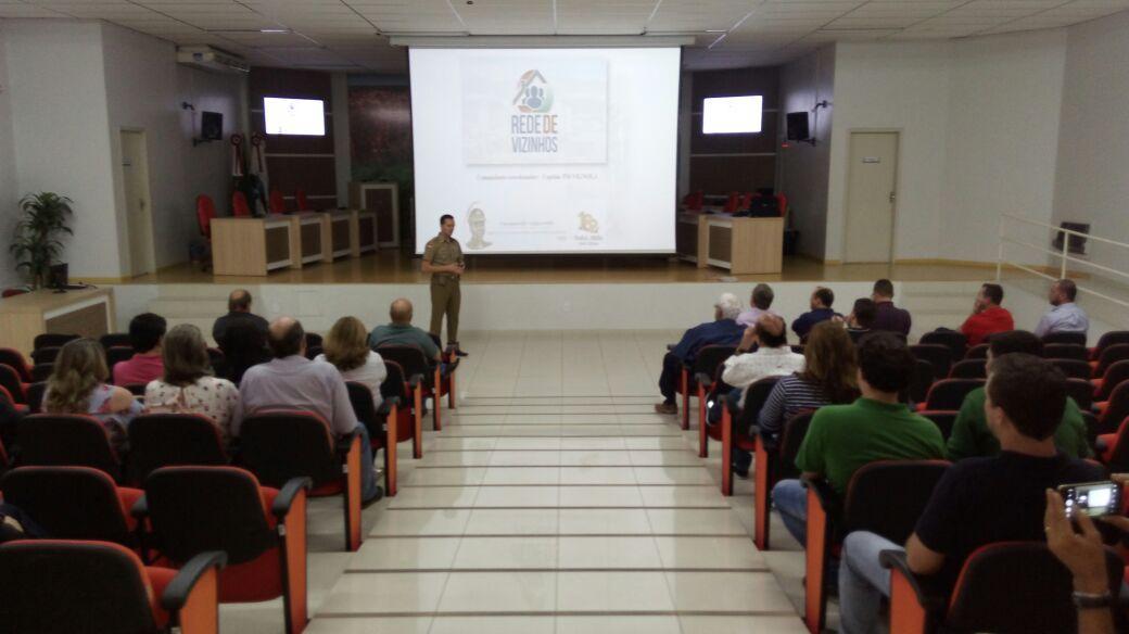 Rede de Vizinhos é lançada para o Centro de Ituporanga