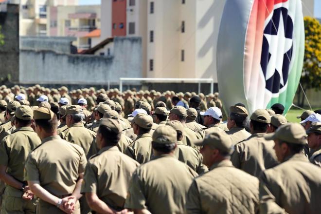 Região da Cebola recebe apenas um dos 920 policiais militares que se formam no Estado