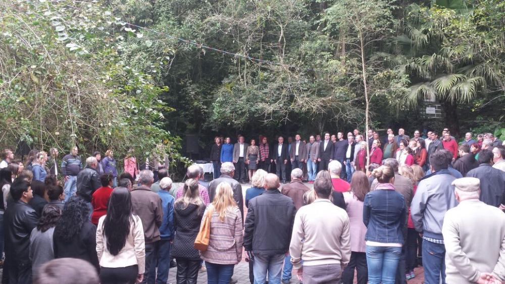 Revitalização da Gruta Nossa Senhora de Lourdes é inaugurada em Ituporanga
