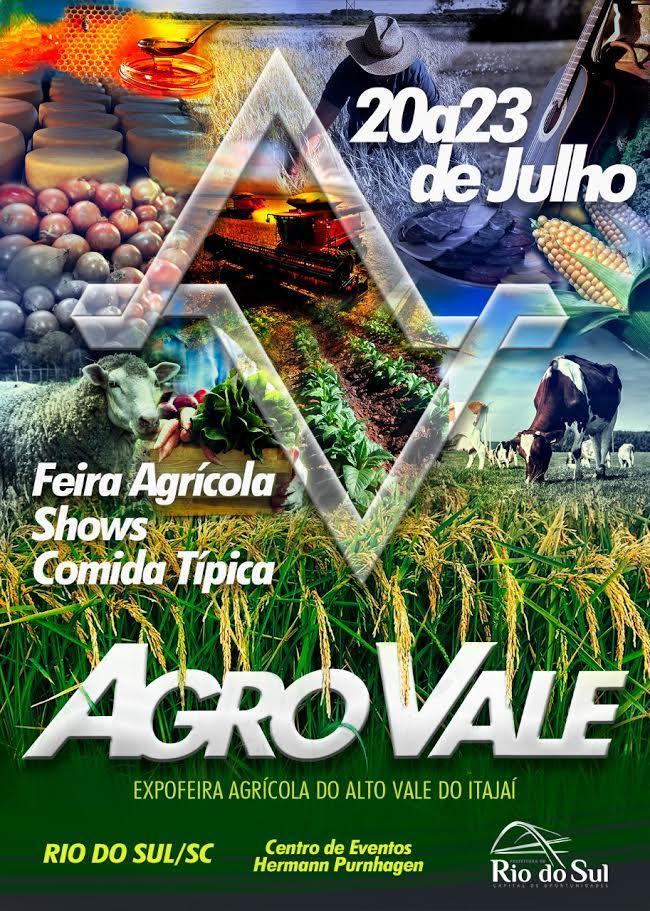 Rio do Sul lança festa regional agrícola, Agro Vale