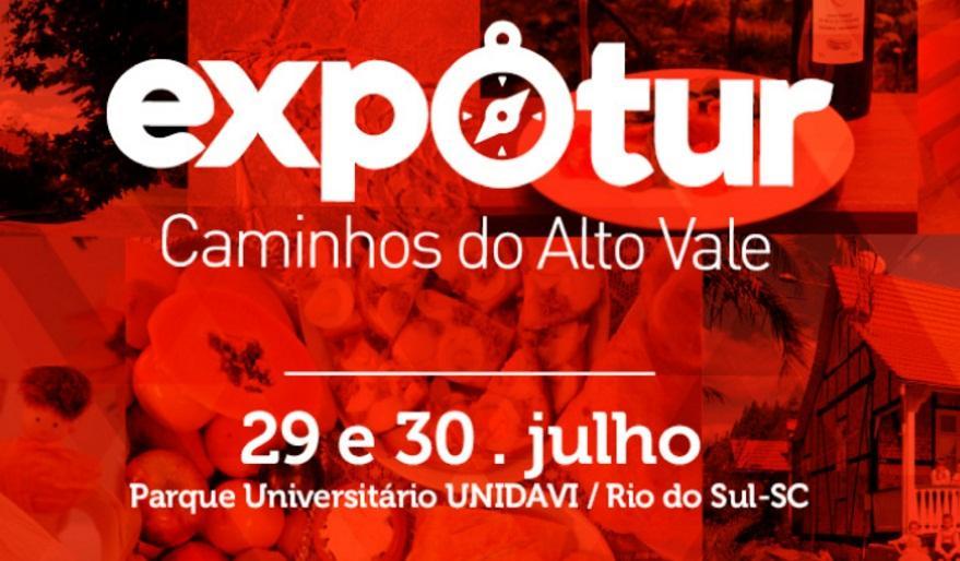Rio do Sul recebe a primeira edição do Expotur Caminhos do Alto Vale