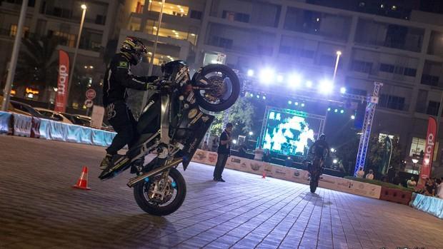 Riosulense Diego Mafra faz top 10 em competição de Stunt Riding em Dubai, Emirados Árabes