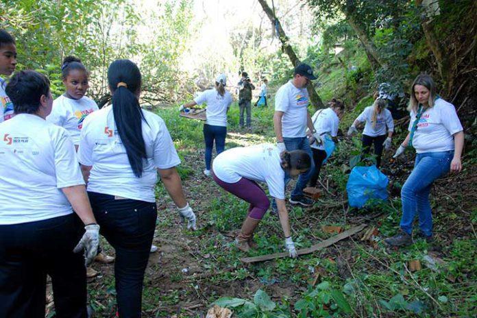 Sábado é dia de mutirão de limpeza no Rio Itajaí do Sul em Ituporanga