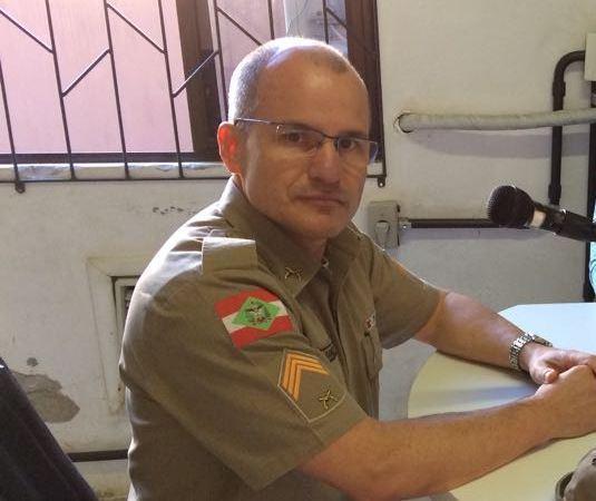 Sargento Samuel completa um ano à frente do Comando da PM de Alfredo Wagner