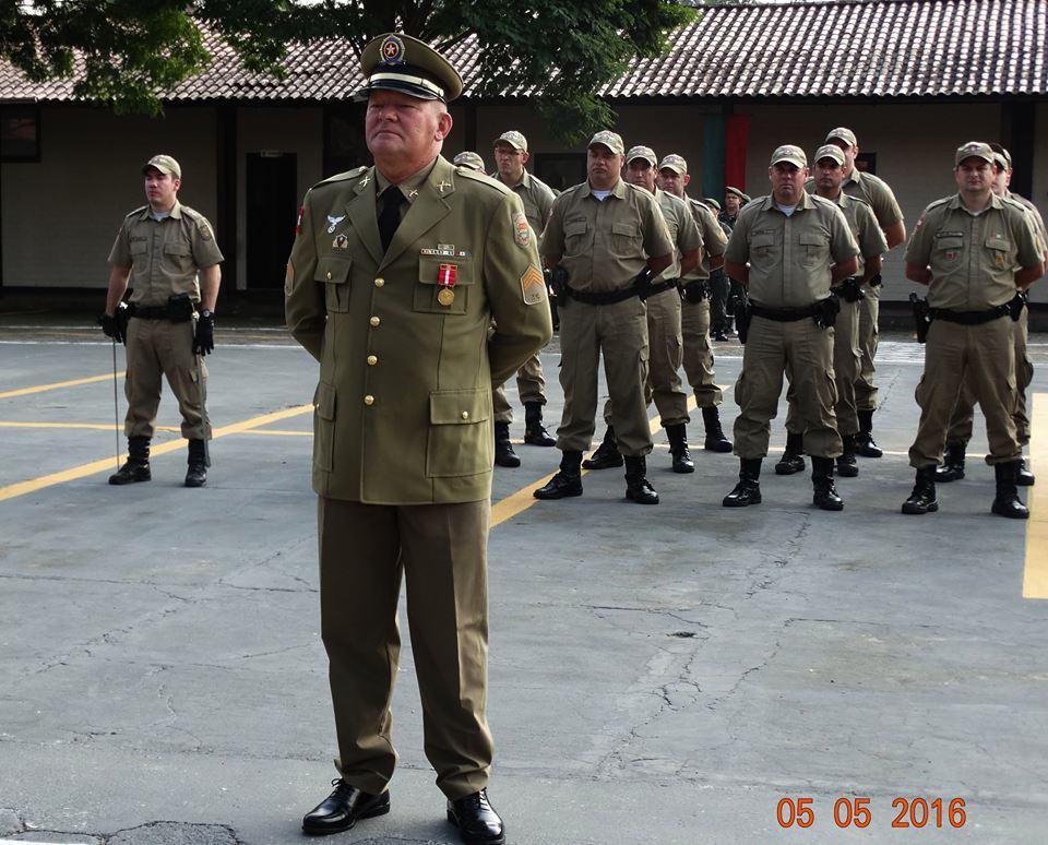 Sargento Wigand Staroscky da PM de Petrolândia recebe Medalha de Mérito