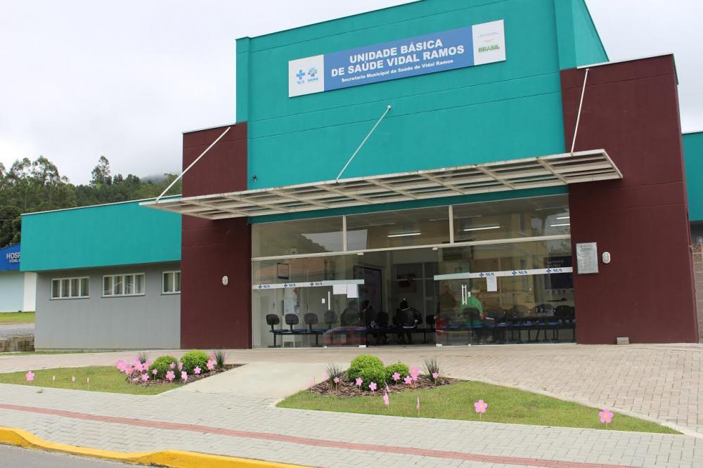 Secretaria de Saúde de Vidal Ramos implanta turno único