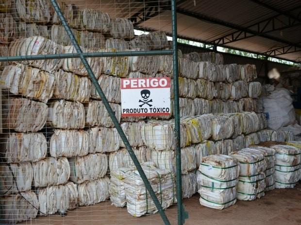 Segue na Região da Cebola o recolhimento itinerante de embalagens vazias de agrotóxicos