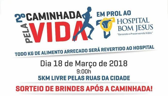 Segunda Caminhada pela Vida será neste domingo em Ituporanga