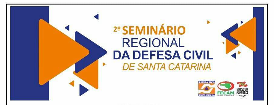Segundo Seminário Regional da Defesa Civil é realizado em Rio do Sul