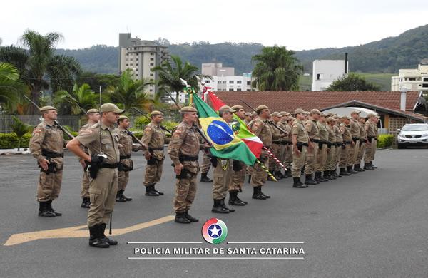 Solenidade em Rio do Sul marca os 183 anos da PMSC
