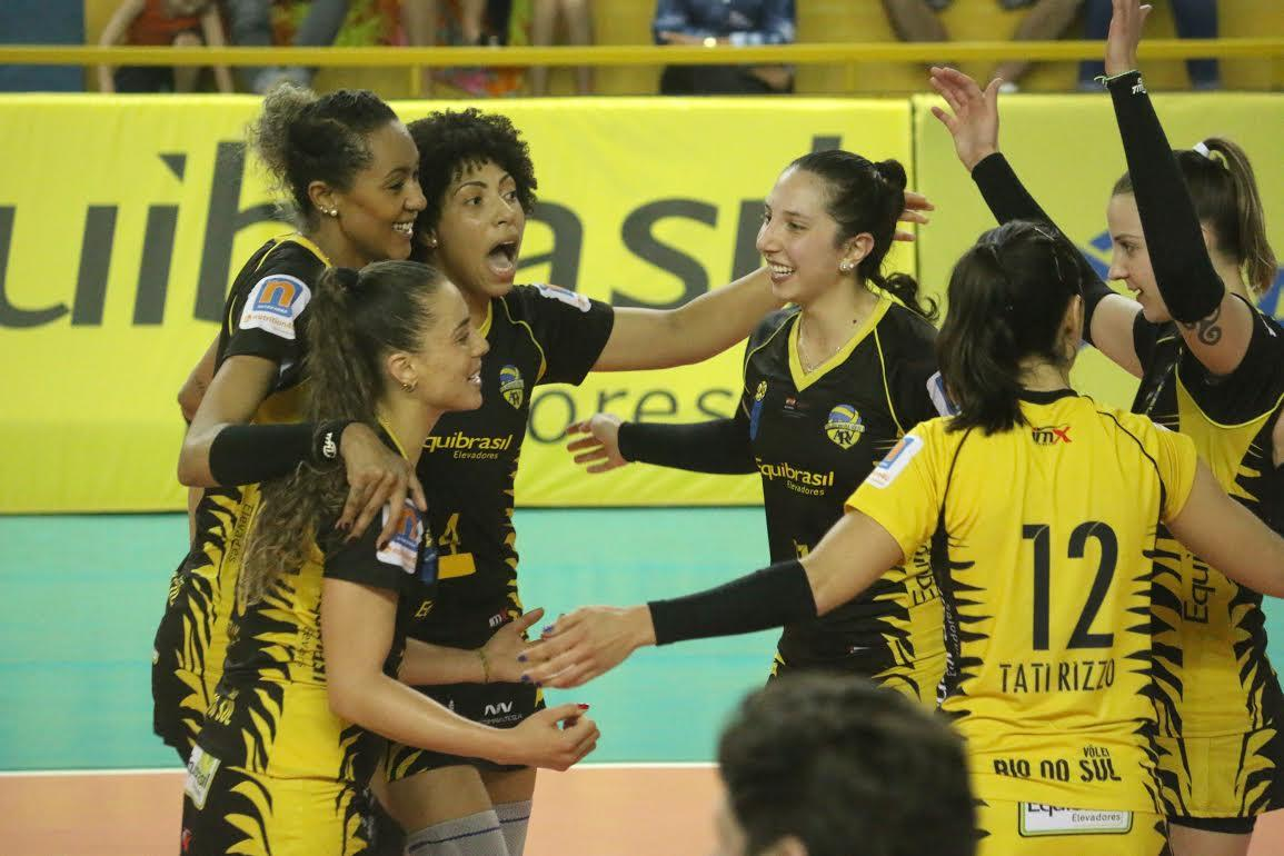 Superliga: Voltando a jogar em casa, Rio do Sul recebe o Bauru nesta terça-feira