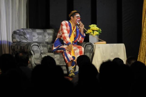 Teatro Biriba se apresenta em evento solidário em Ituporanga