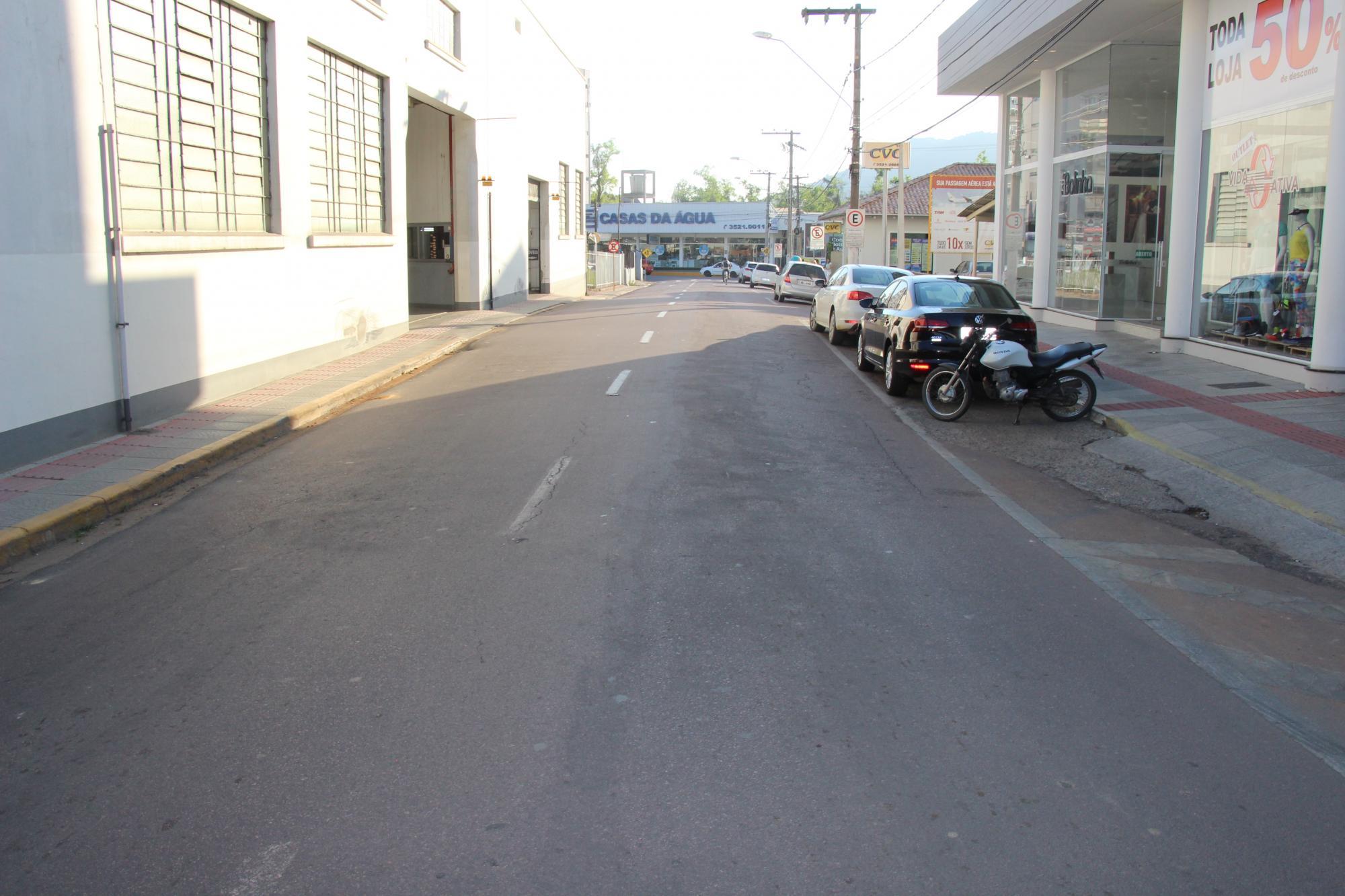 Trânsito nas imediações da prefeitura de Rio do Sul vai mudar a partir de segunda-feira (25)
