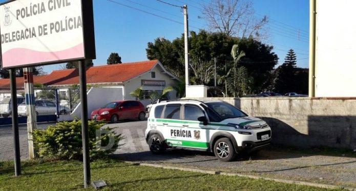 Veículo envolvido em acidente que matou jovem é periciado pela Polícia em Agrolândia