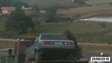 Veículo furtado em Ituporanga é encontrado em Fraiburgo