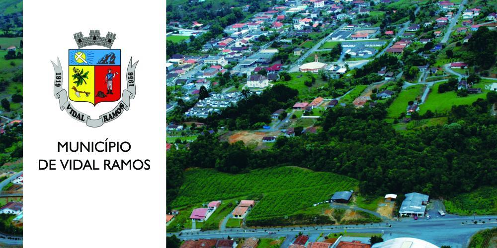 Vidal Ramos licita obras e aquisições de veículos