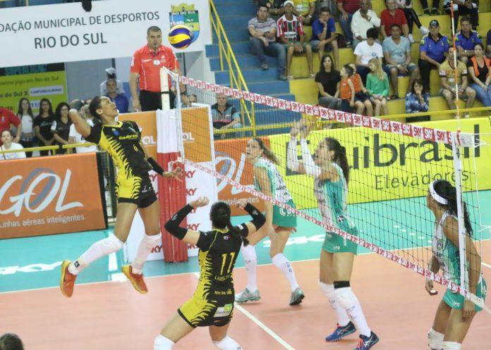 Vôlei de Rio do Sul emite nota informando que não disputará a Superliga 2017-2018