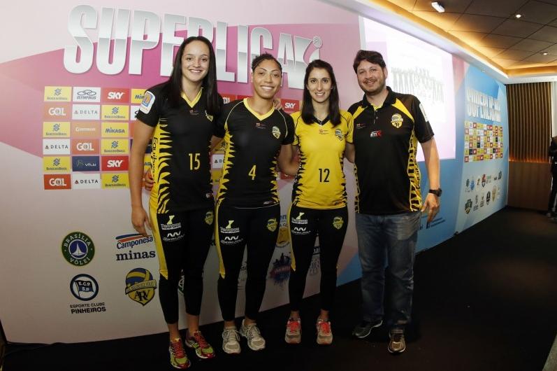 Vôlei: Rio do Sul participa do lançamento da Superliga