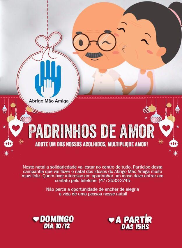 Voluntários do AMA promovem mais uma edição do projeto Padrinhos de Amor