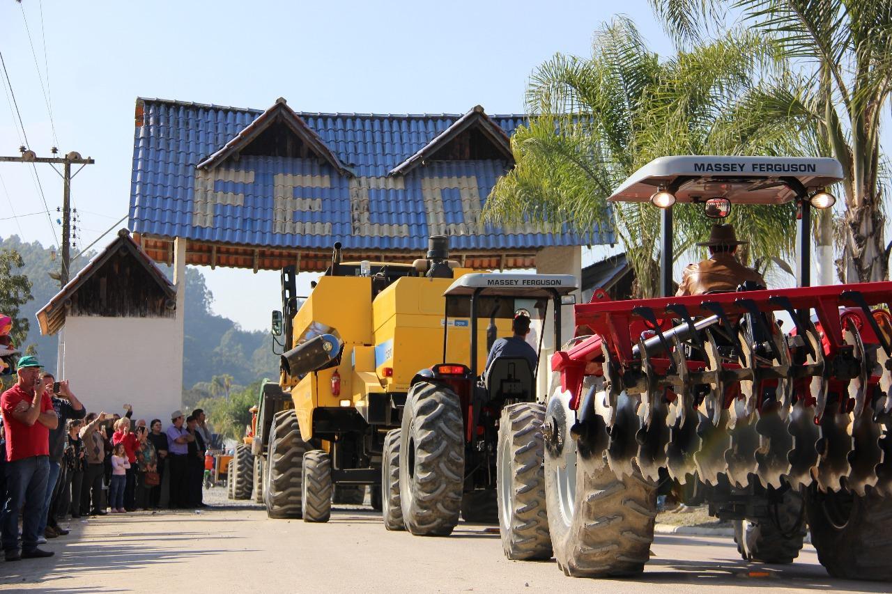 XXIX Festa da Colheita de Agrolândia reuniu em cinco dias mais de 30 mil visitantes