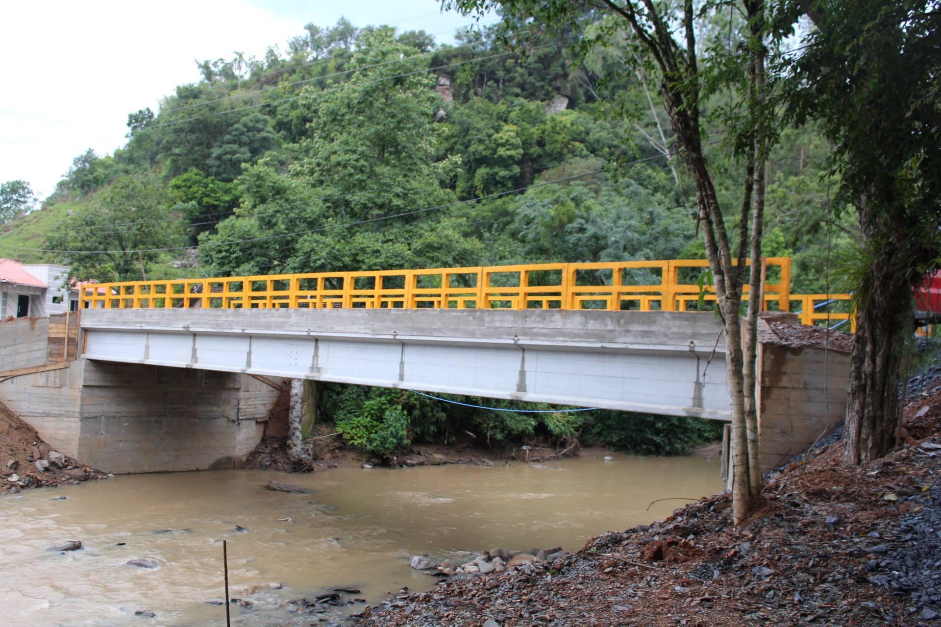 Nova ponte é inaugurada no Centro de Vidal Ramos