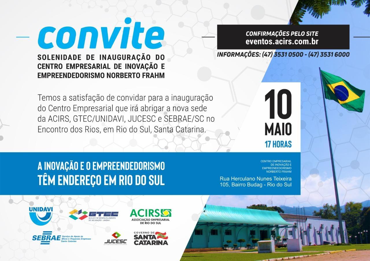 Novo espaço da Associação Empresarial de Rio do Sul será inaugurado nesta sexta