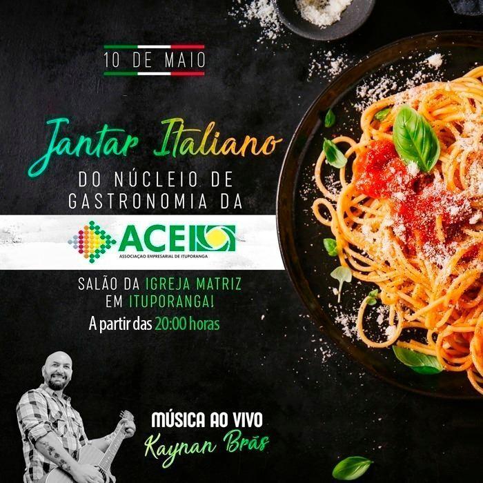 Núcleo de Gastronomia de Ituporanga promove jantar Italiano