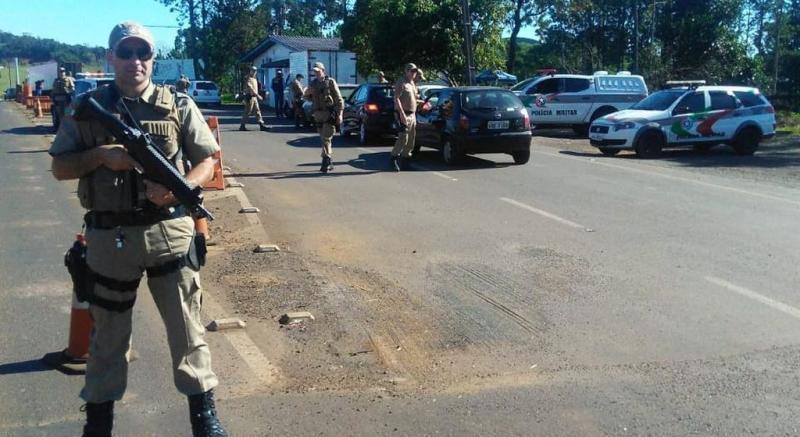 Operação nas fronteiras de Santa Catarina aborda 14 mil pessoas e prende 32