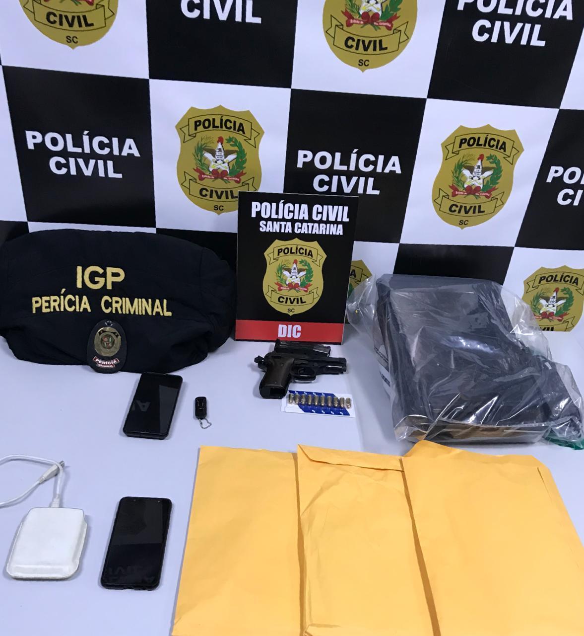 Polícia Civil deflagra Operação Curto-Circuito no Alto Vale