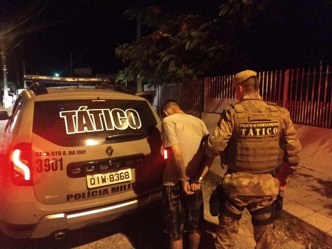Polícia Militar prendeu dois dos envolvidos em roubo à distribuidora de bebidas em Alfredo Wagner