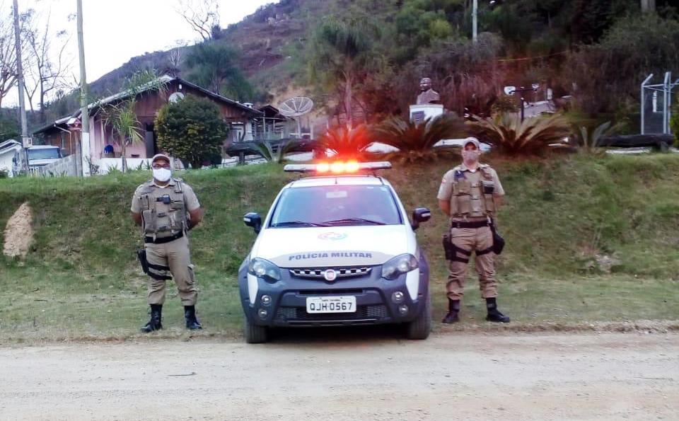 Polícia Militar realiza Operação Campo Seguro em Alfredo Wagner