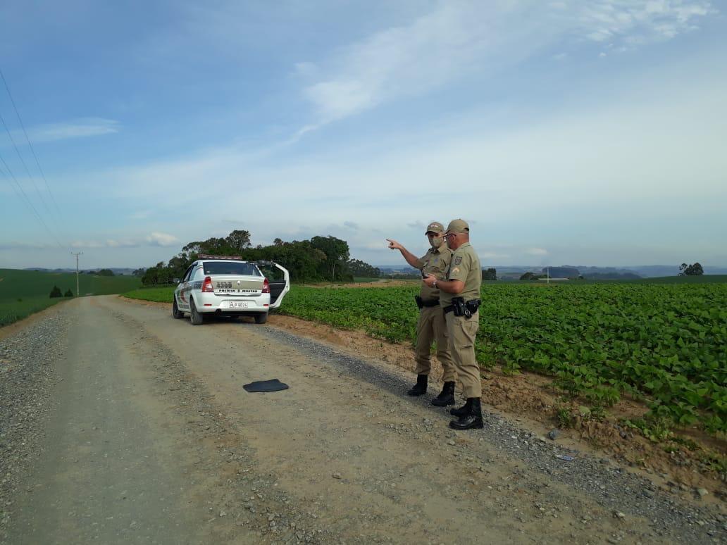 Polícia Militar usa drone em operação nas áreas rurais em Ituporanga