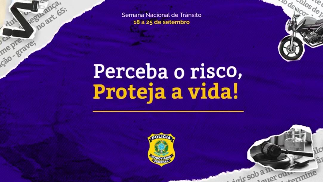 Polícia Rodoviária Federal promove ações especiais durante a Semana Nacional do Trânsito