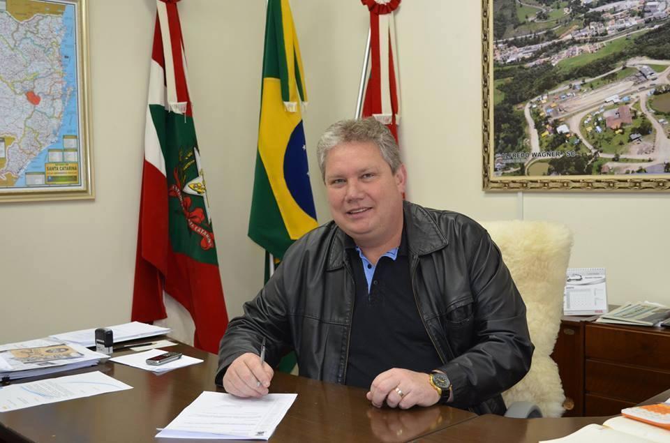 Prefeito de Alfredo Wagner avalia ano de 2018 como positivo para a administração municipal