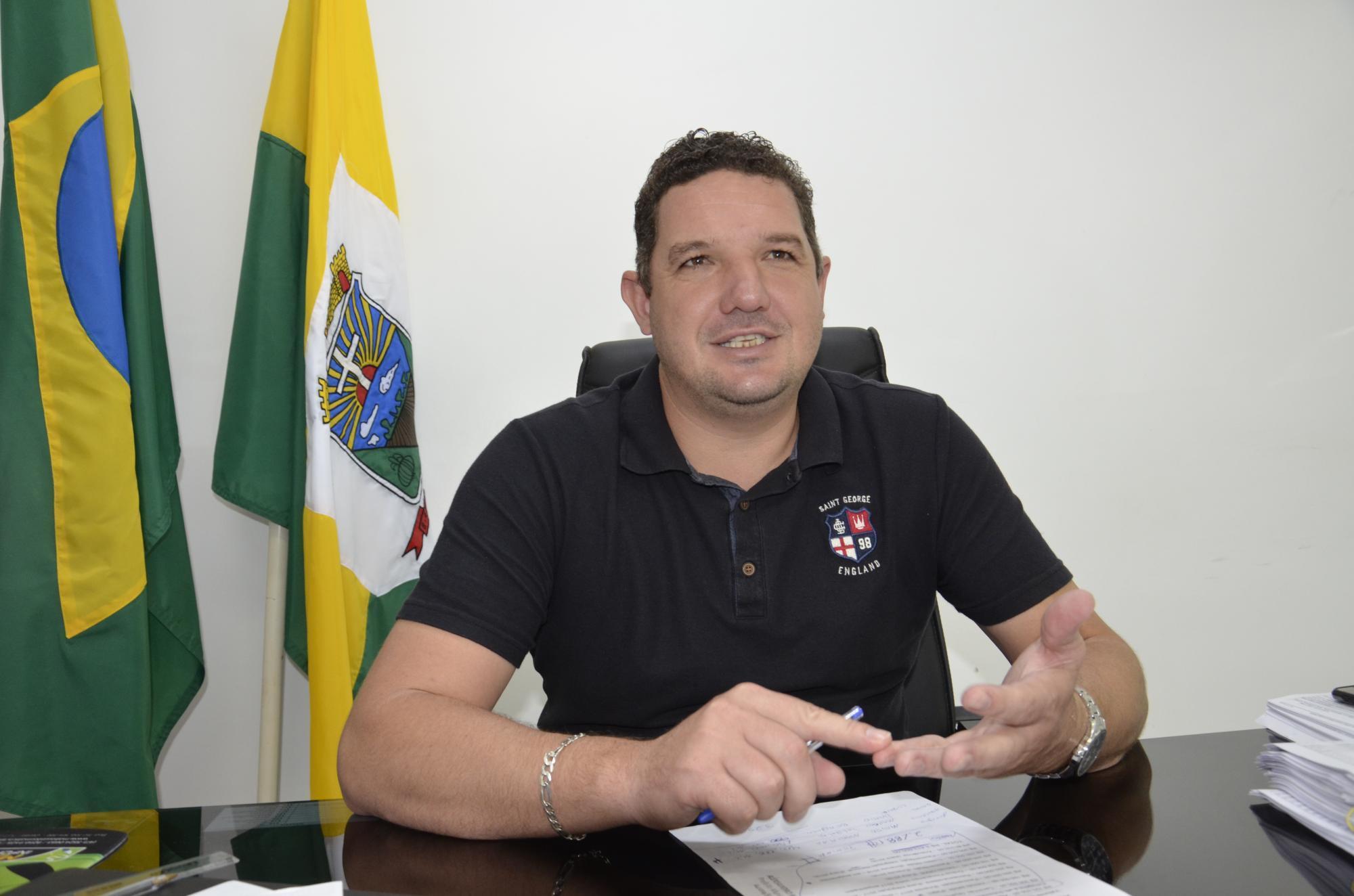 Prefeito de Aurora avalia os trabalhos realizados em 2018