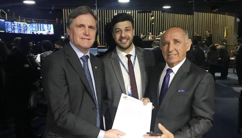 Prefeito de Ituporanga retorna de Brasília com garantia de recursos para construção do Parque Salto Grande