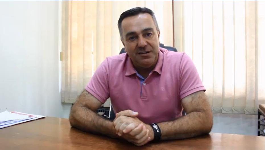 Prefeito de Vidal Ramos busca em Brasília recursos para o município