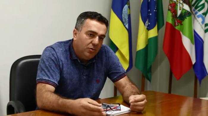 Prefeito de Vidal Ramos está internado com suspeita de COVID-19