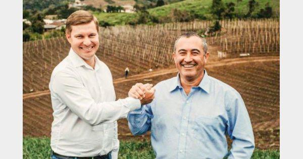 Prefeito e vice de Alfredo Wagner vão a Brasília, em busca de recursos para o município