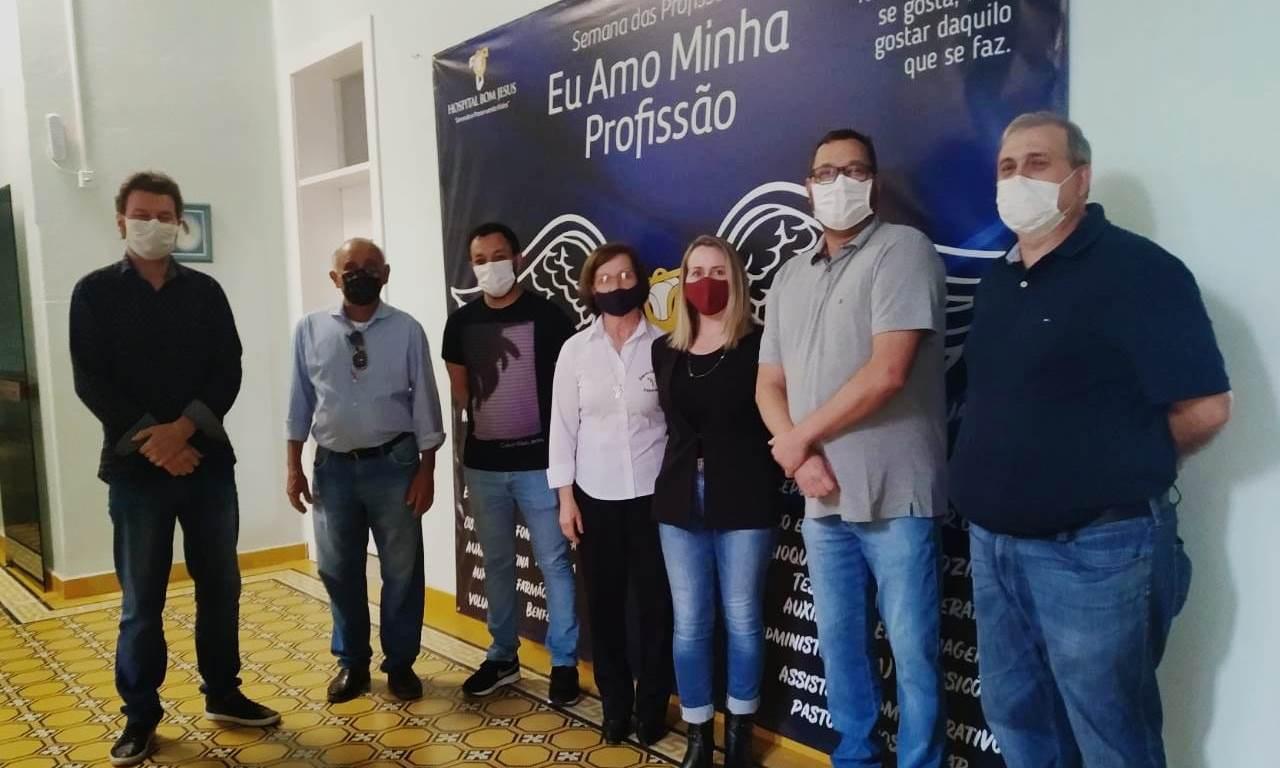 Prefeito em exercício de Ituporanga repassa cerca de R$ 350 mil para o Hospital Bom Jesus