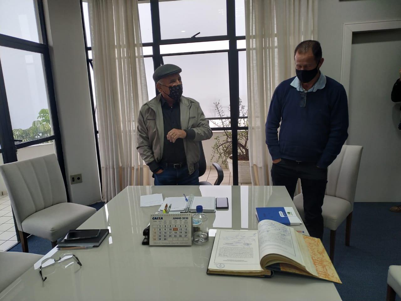 Prefeito Gervásio Maciel retorna ao comando da administração em Ituporanga