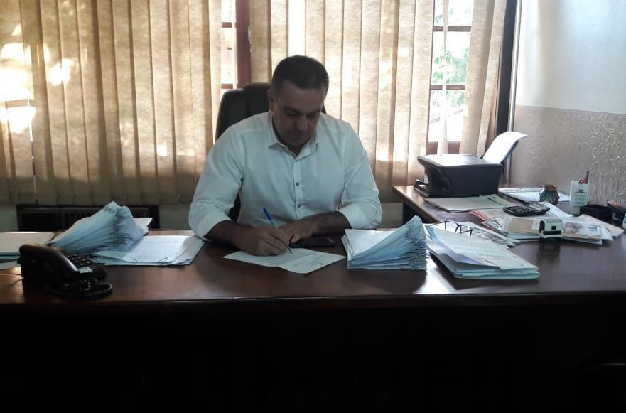 Prefeito Odilmar de Souza faz primeira reunião com secretários e comissionados em Vidal Ramos