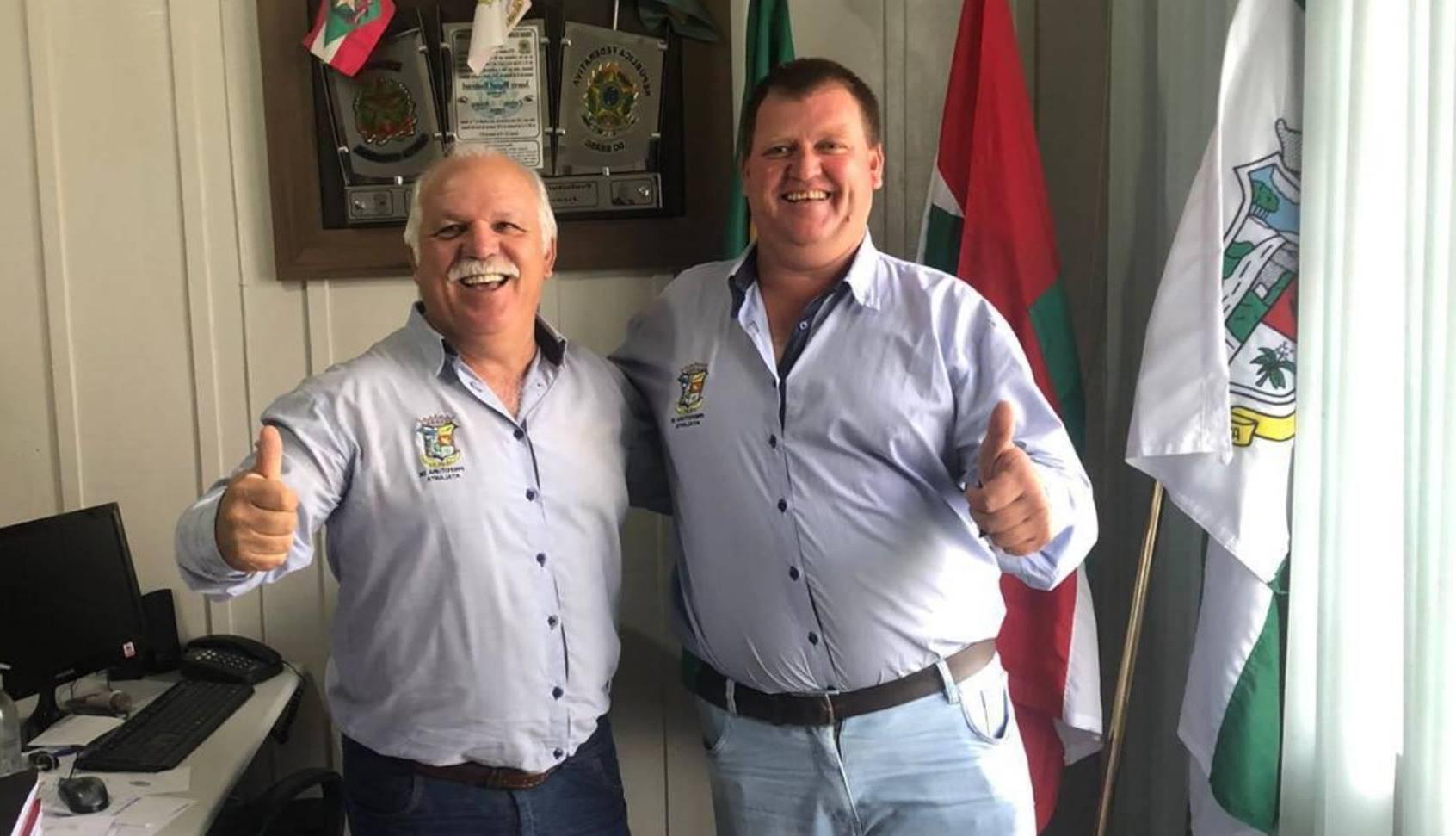 Prefeito reeleito de Atalanta, Juarez Miguel Rodermel (MDB), destaca projetos para os próximos quatro anos